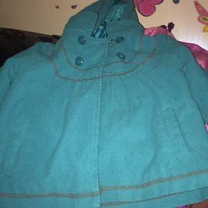 Turquoise jacket dressy